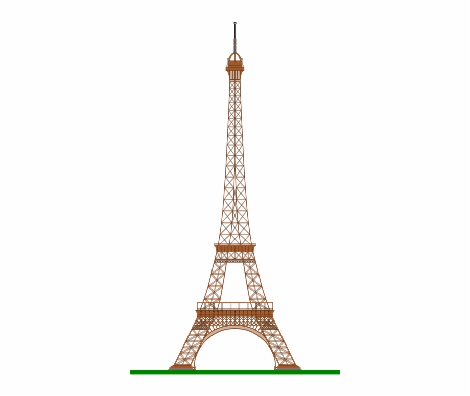 Eiffel Tower Drawing Paris France Icon Symbol Eiffel Tower Gif Png Transparent Png Download 762591 Vippng