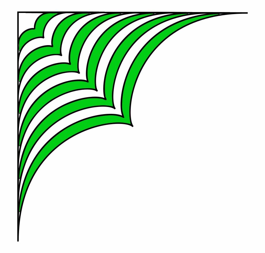 decorative corner pattern background bingkai vektor hijau transparent png download 769461 vippng decorative corner pattern background