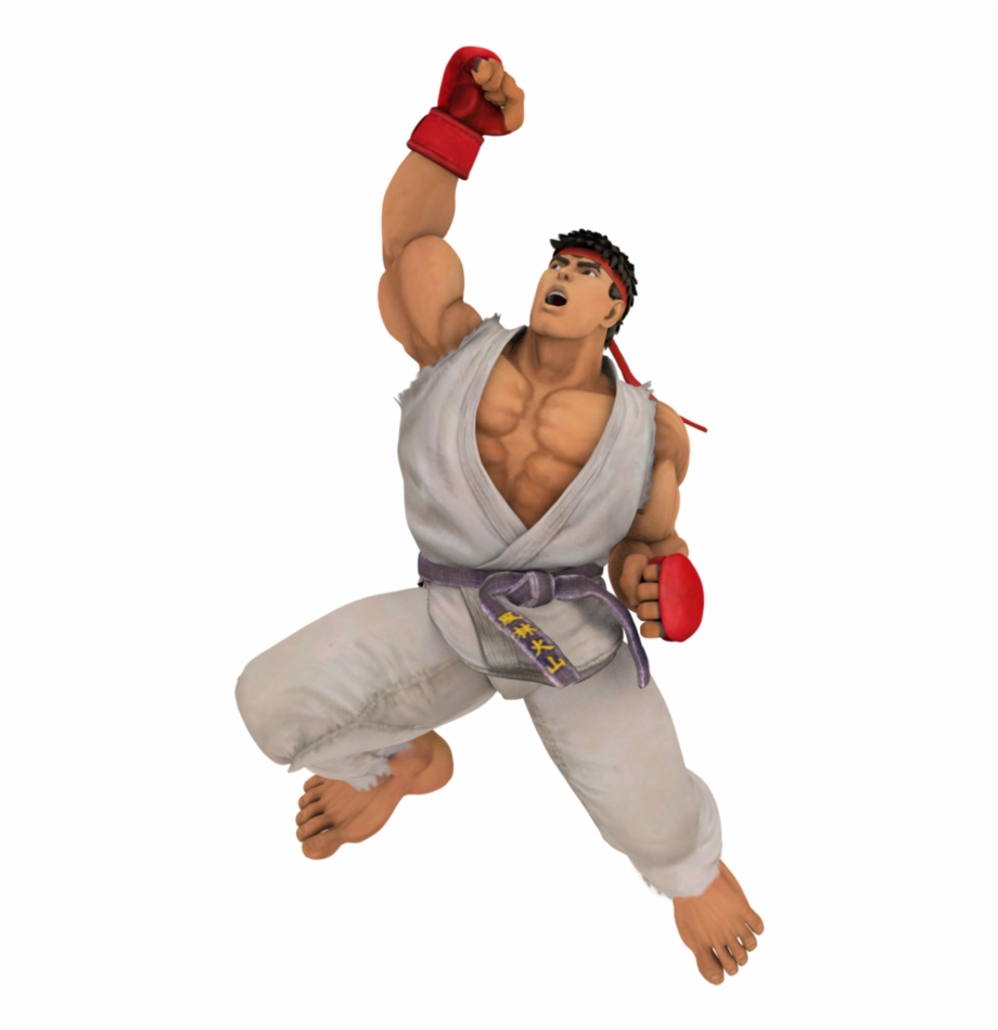 Street Fighter Transparent Png Png Download Ryu Street