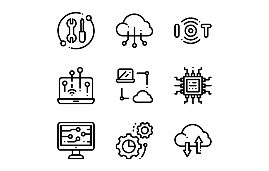 Internet Technology Cute Plane Icon Transparent Background Transparent Png Download 80483 Vippng