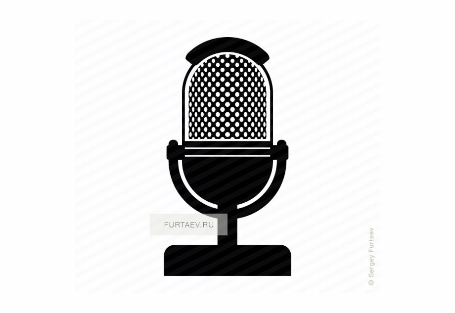 Retro Microphone Icon Vintage Microphone Icon Transparent