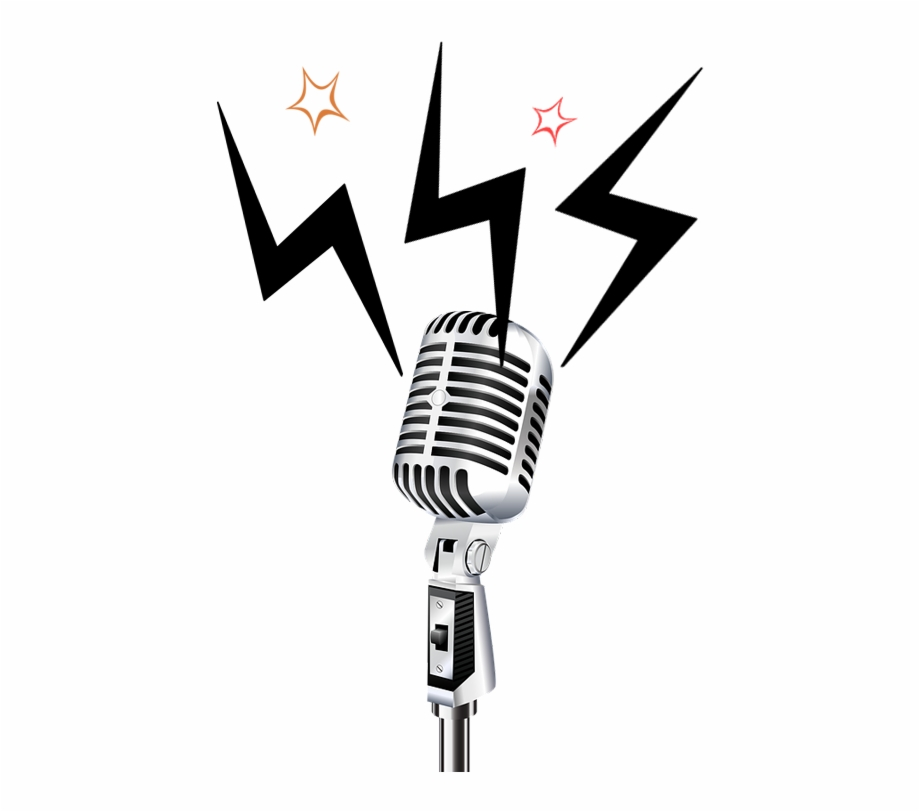 Retro Microphone Png , Png Download - Transparent ...