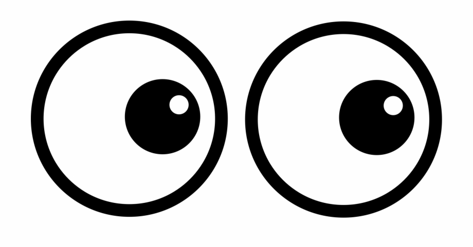 Eye Cartoon Drawing Emoticon Png Image With Transparent Big