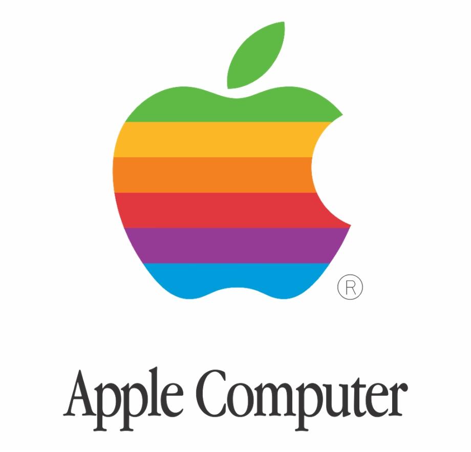 Free Apple Logo 3d Printer & Cults Old Apple Puter