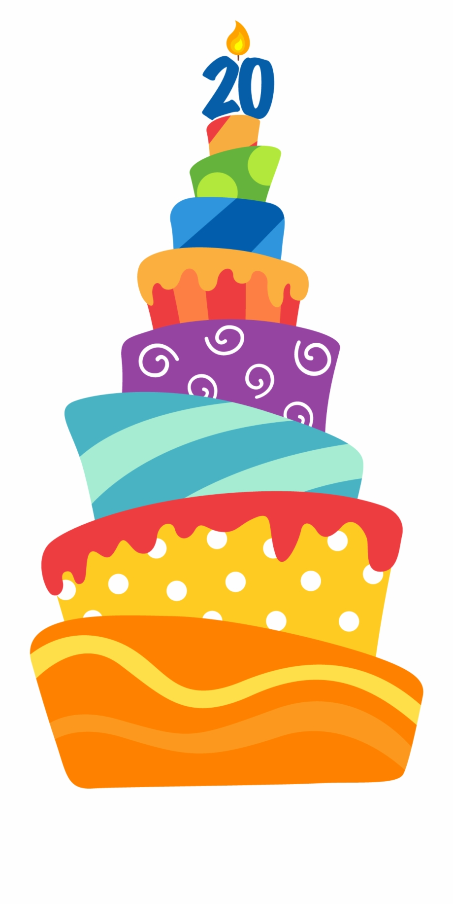 Astounding May Clipart Birthday Cake 20Th Birthday Cake Png Transparent Funny Birthday Cards Online Inifodamsfinfo