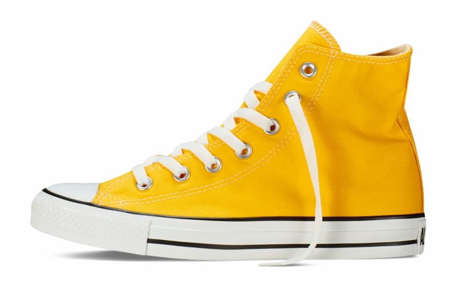 Chuck Taylor All Star Fresh Colors Lemon Chrome Hi Top