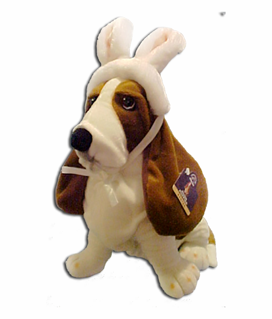Hushpuppies Basset Hound Puppy Dog Easter Bunny Plush Hush Puppies Dog Transparent Png Download 807533 Vippng