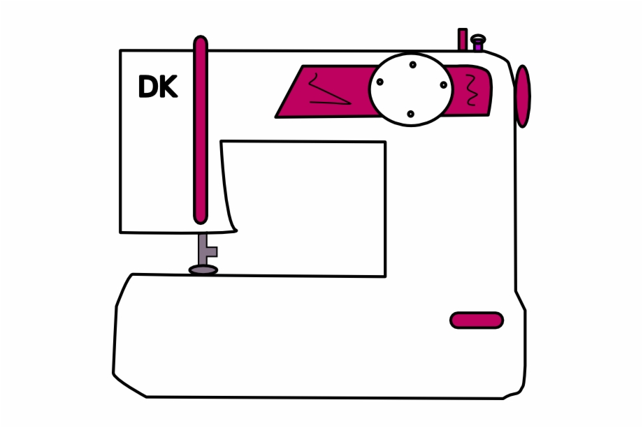 Dk Sewing Machine Clip Art Dikis Makinesi Vektorel Png Transparent Png Download 812384 Vippng