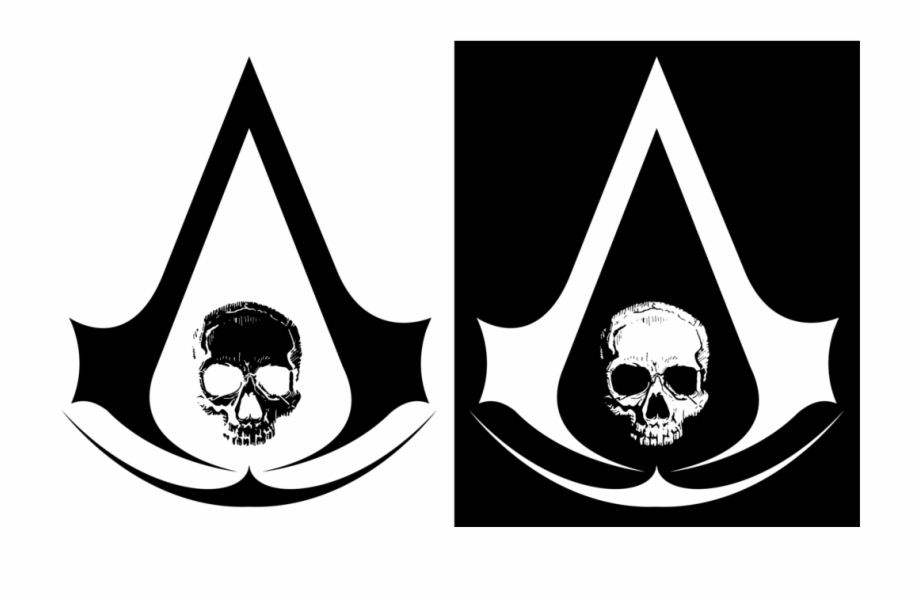 Pirate Assassin Symbol Assassins Creed 4 Logo Transparent Png