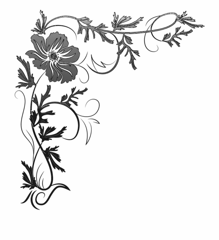 corner png border gambar untuk desain bunga png transparent png download 834874 vippng desain bunga png transparent png
