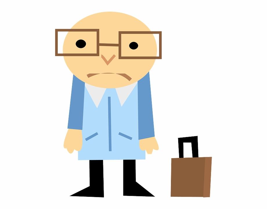 Cartoon Royalty Free Clip Art Man Transprent - Sad Man Png, Transparent Png  , Transparent Png Image - PNGitem