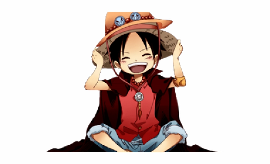 One Piece Clipart Animasi One Piece Luffy Cute Transparent Png
