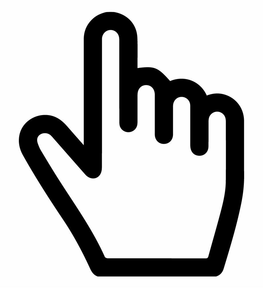 Web Cursor Icon Png Download Clicker Free Gestures Icons Transparent Png Download 848907 Vippng