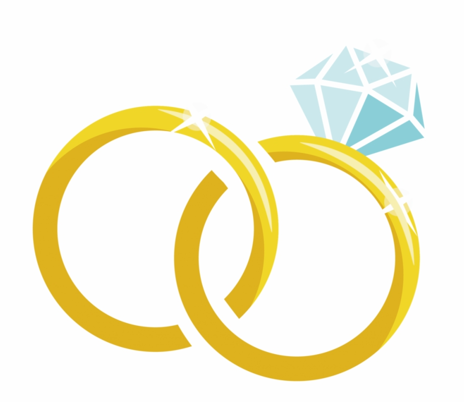 Wedding Ring Vector Png Cartoon Diamond Ring Clipart Transparent Png Download 860946 Vippng