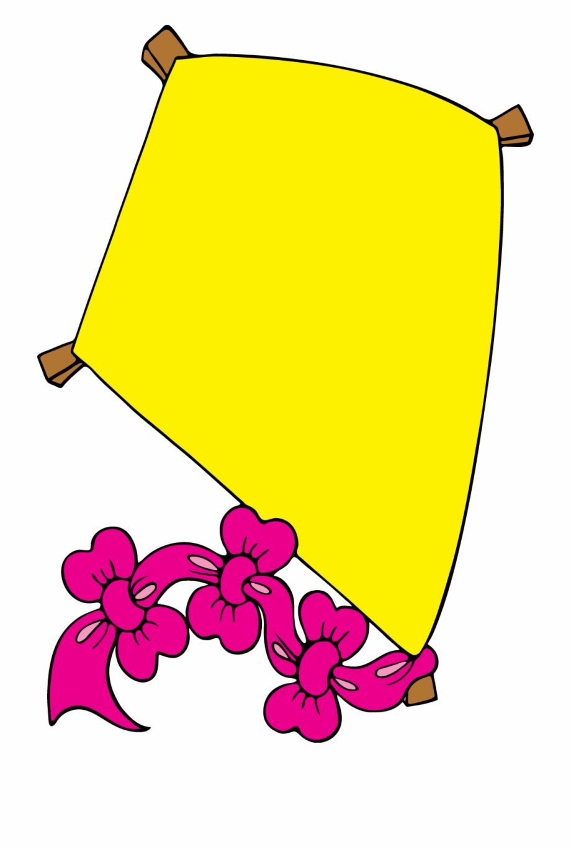 Kite Clipart Yellow Yellow Kite Cartoon Png Transparent Png
