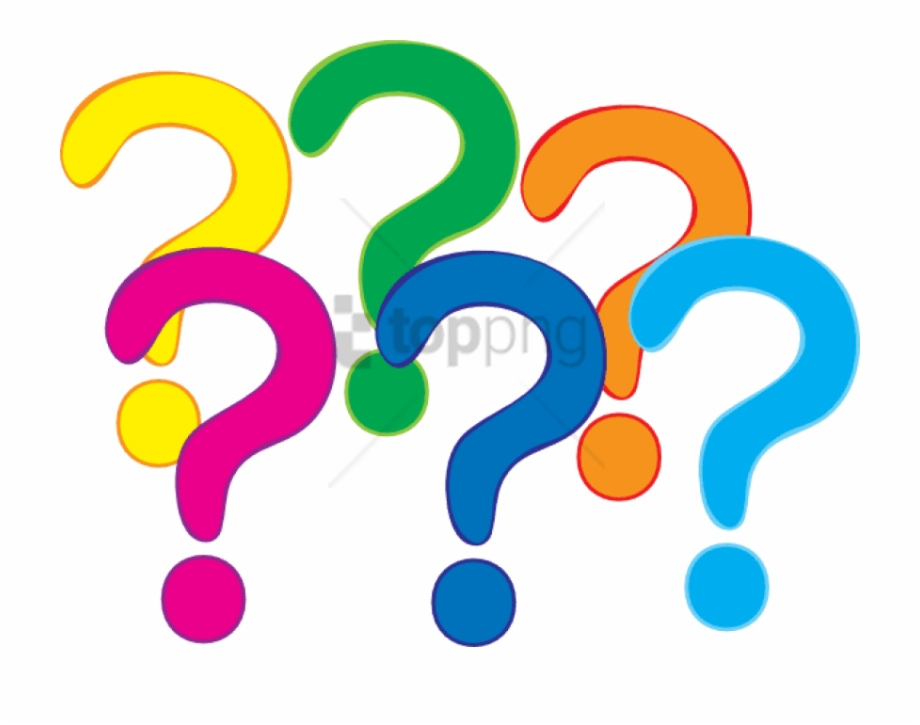 Free Png Question Mark Clipart Png Png Image With Transparent