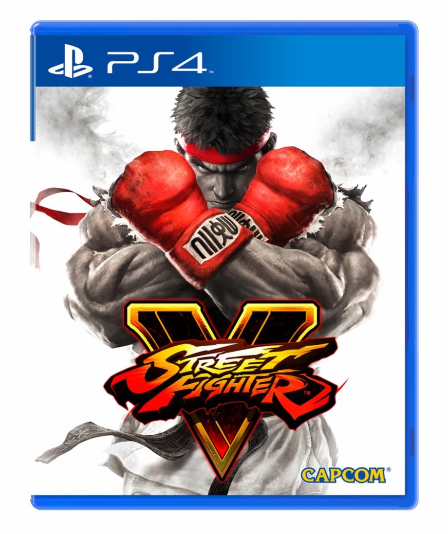 Street Fighter V Boxart Street Fighter V Dvd Pc Transparent