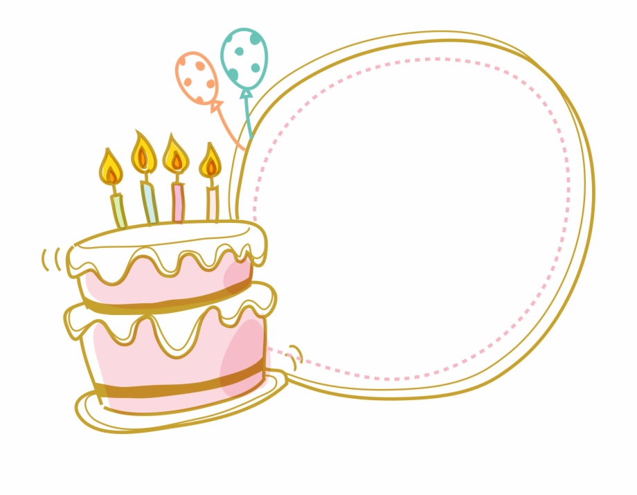 Excellent Cake Birthday Border Free Clipart Hq Clipart Cake Border Clipart Funny Birthday Cards Online Aeocydamsfinfo