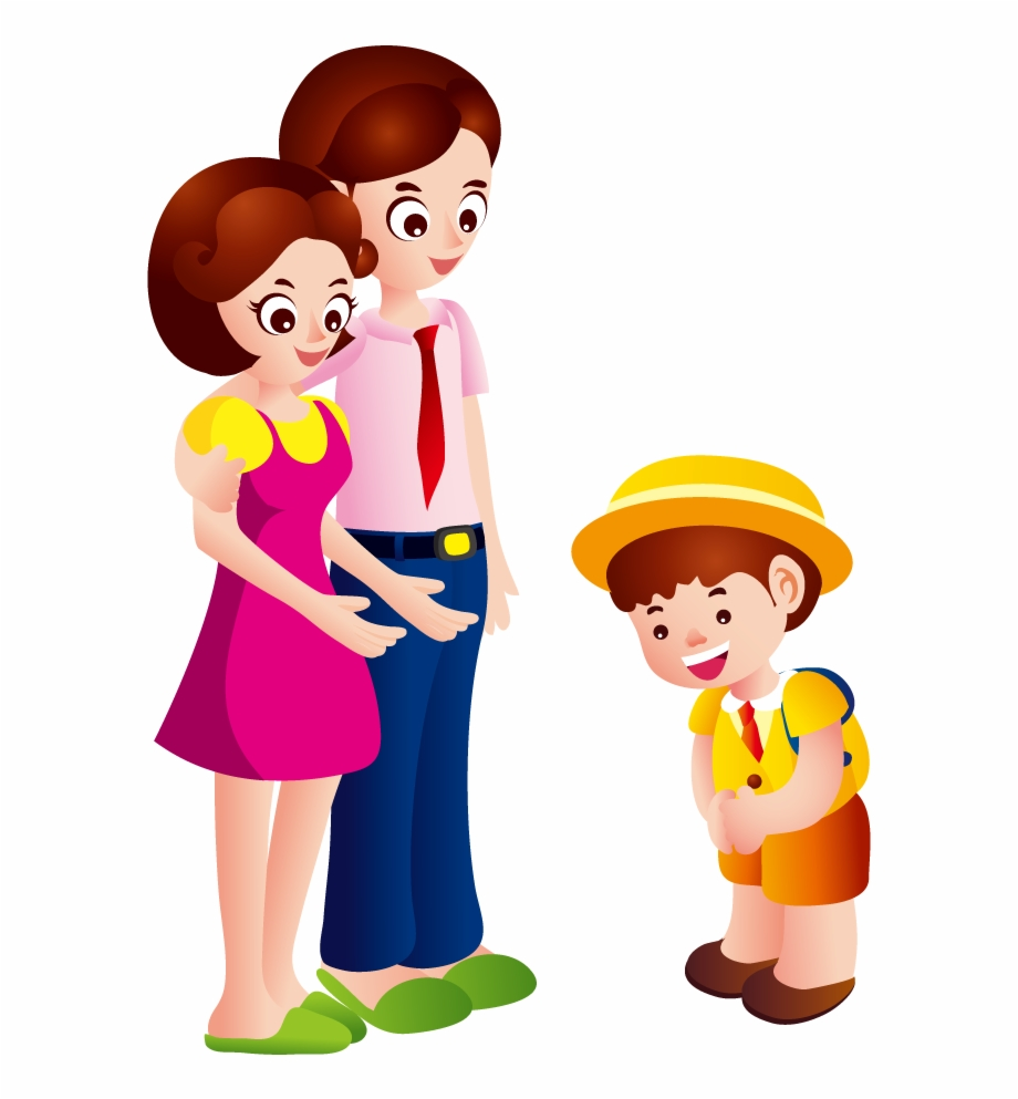 Parent And Child Png Clipart Saying Goodbye To Parents Clipart Transparent Png Download 936954 Vippng