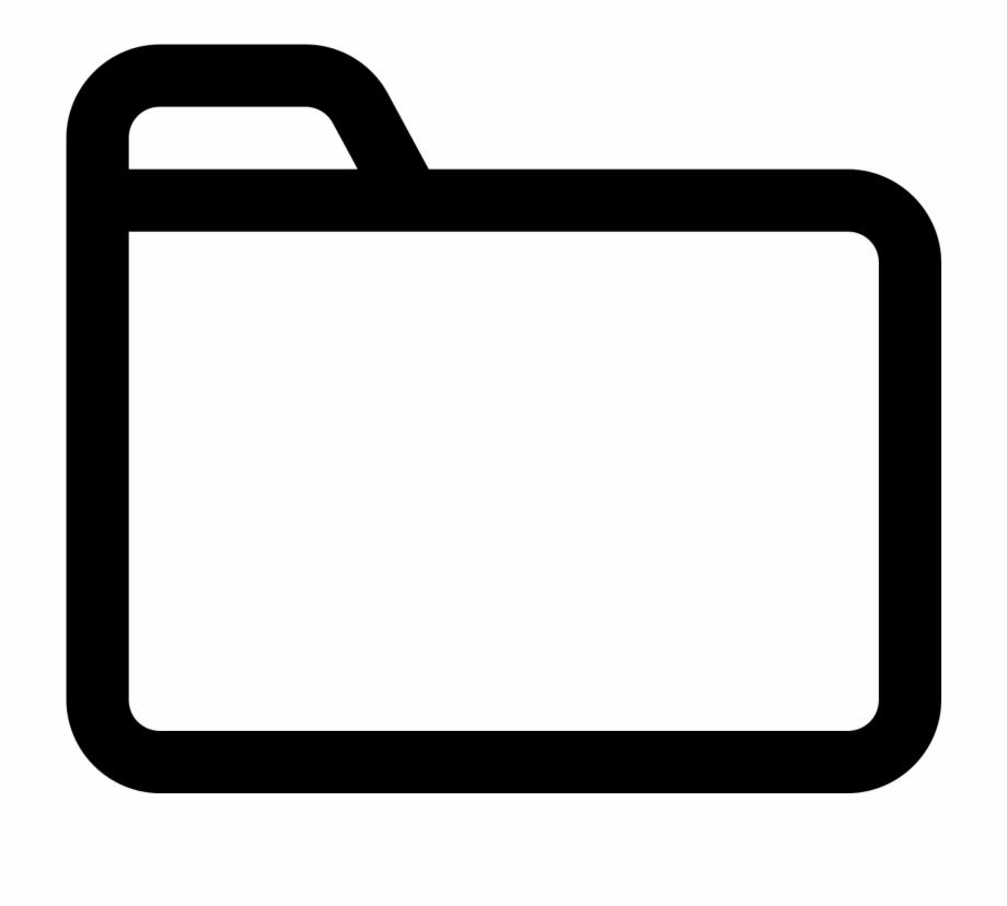Transparent Images Pluspng Icon White Folder Icon Transparent Transparent Png Download 965935 Vippng