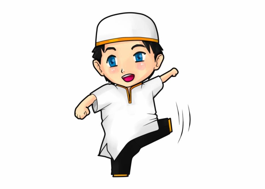 Gambar Muslim Png Gambar Anime Muslimah Chibi