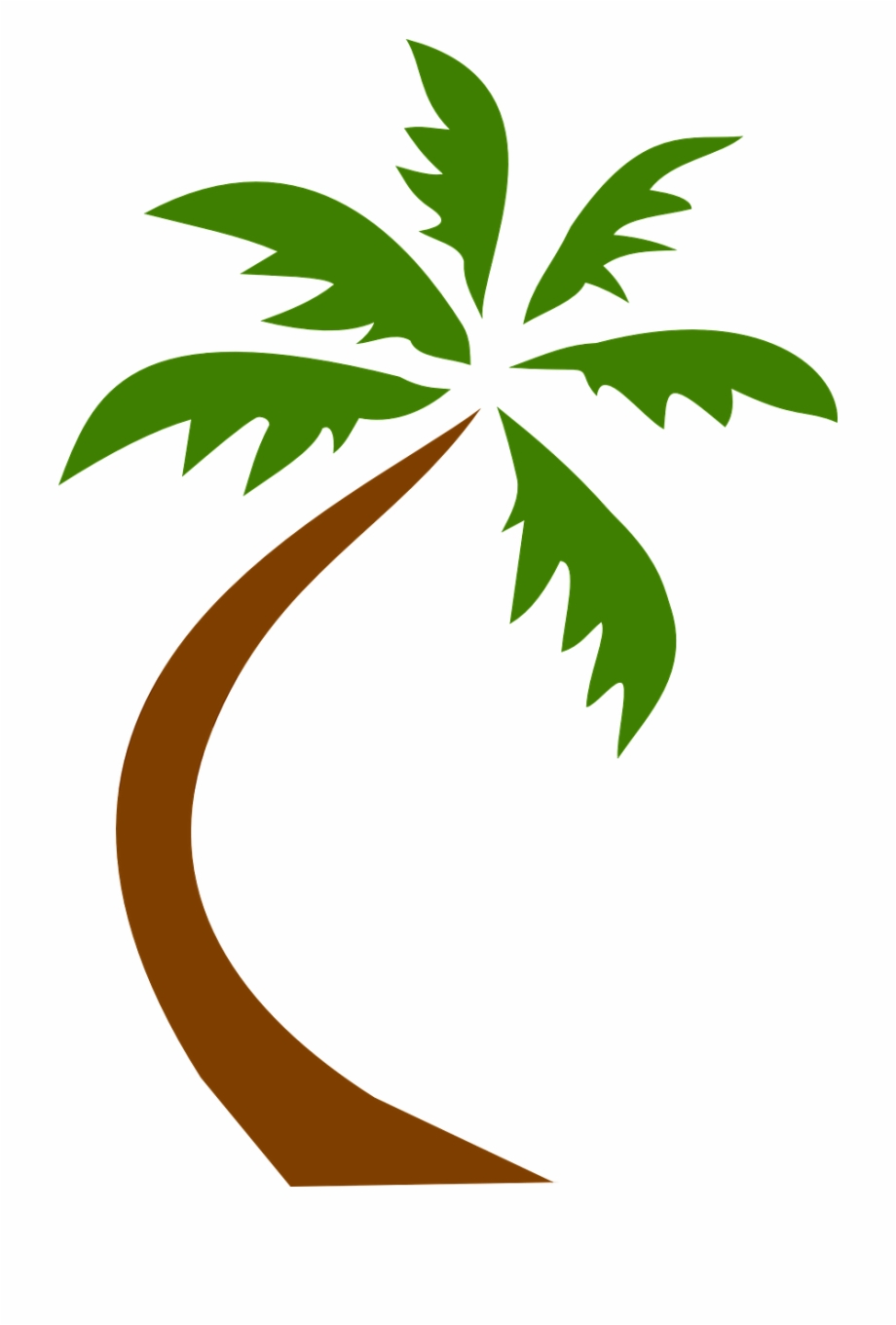 Coconut Tree Tropical Palms Png Image - Palm Trees Clip ... (920 x 1360 Pixel)