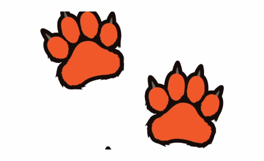 Clemson Tiger Paw Stencil Tiger Paw Print White Transparent Png Download 994932 Vippng It's high quality and easy to use. clemson tiger paw stencil tiger paw