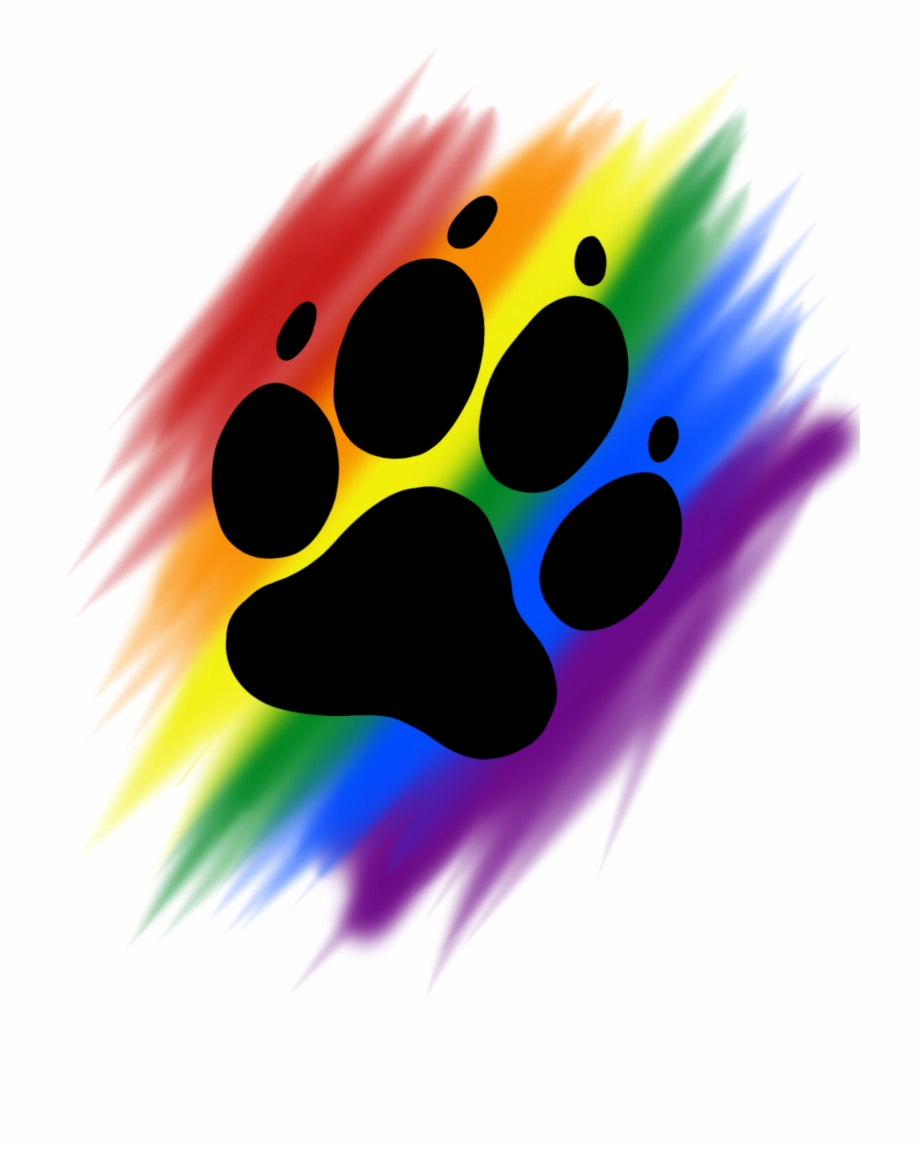 Rainbow Brush Paw Print Png Download Rainbow Dog Paw Print Transparent Png Download 994972 Vippng Whatsapp iphone, whatsapp, logo, monochrome, black png. rainbow brush paw print png download