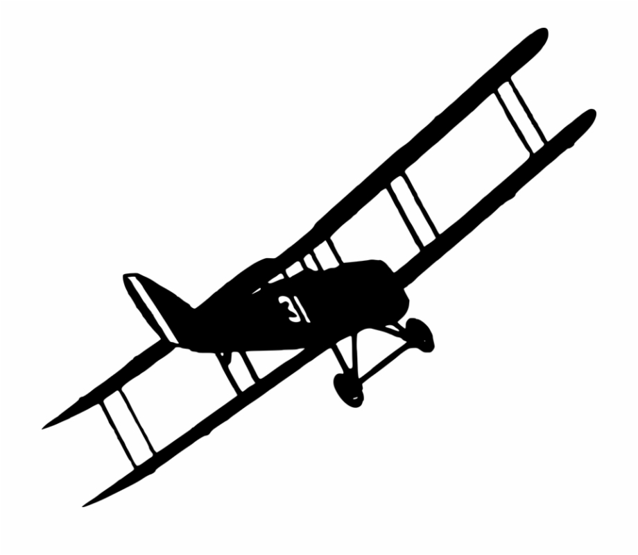 World War Plane Clipart World War 1 Plane Silhouette