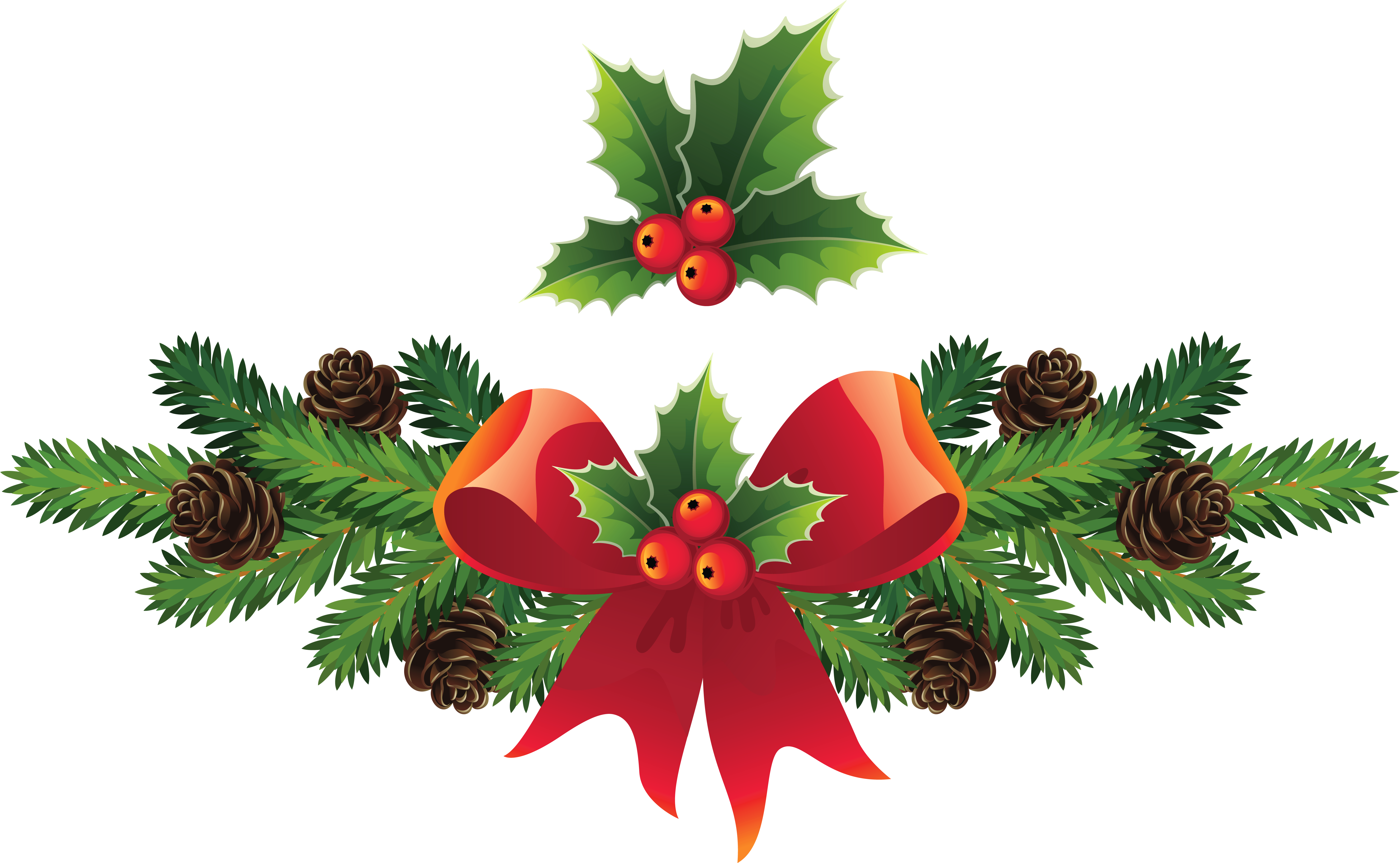 mistletoe png - Christmas Holly Mistletoe Png Clip Art Image Png M - Christmas Messages In ...