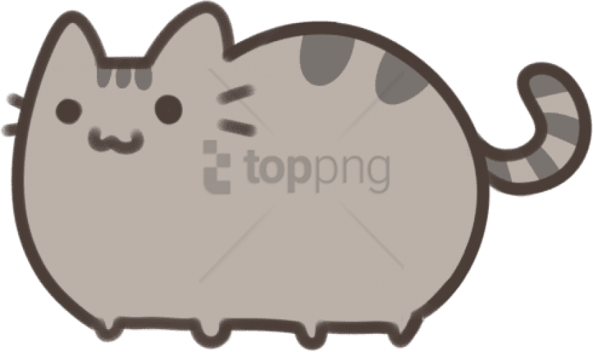 Cute Cats Png Cute Pusheen Cat Drawings Png Image With Transparent Cute Cat Drawings Easy 1042929 Vippng
