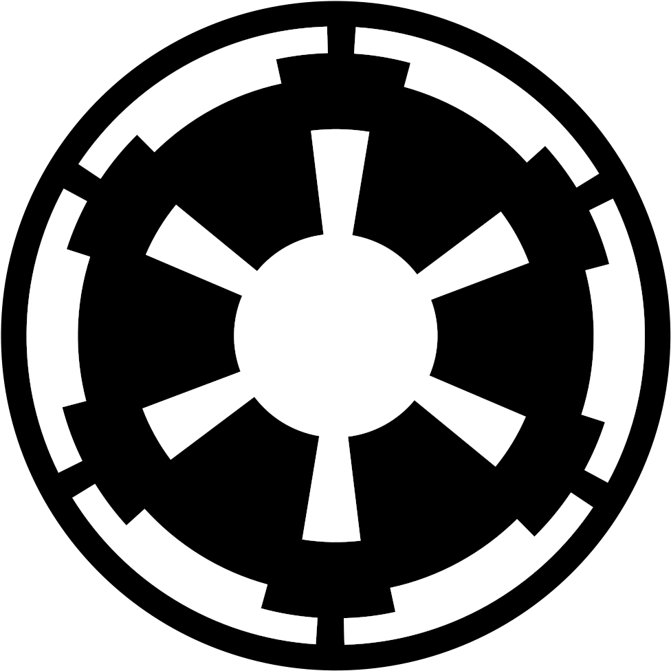 spdecals Star Galactic Empire Vinyl Decal Window Sticker