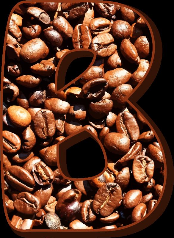 Coffee Bean Png Coffee Beans Typography B Logo Biji Kopi Vektor 1203274 Vippng