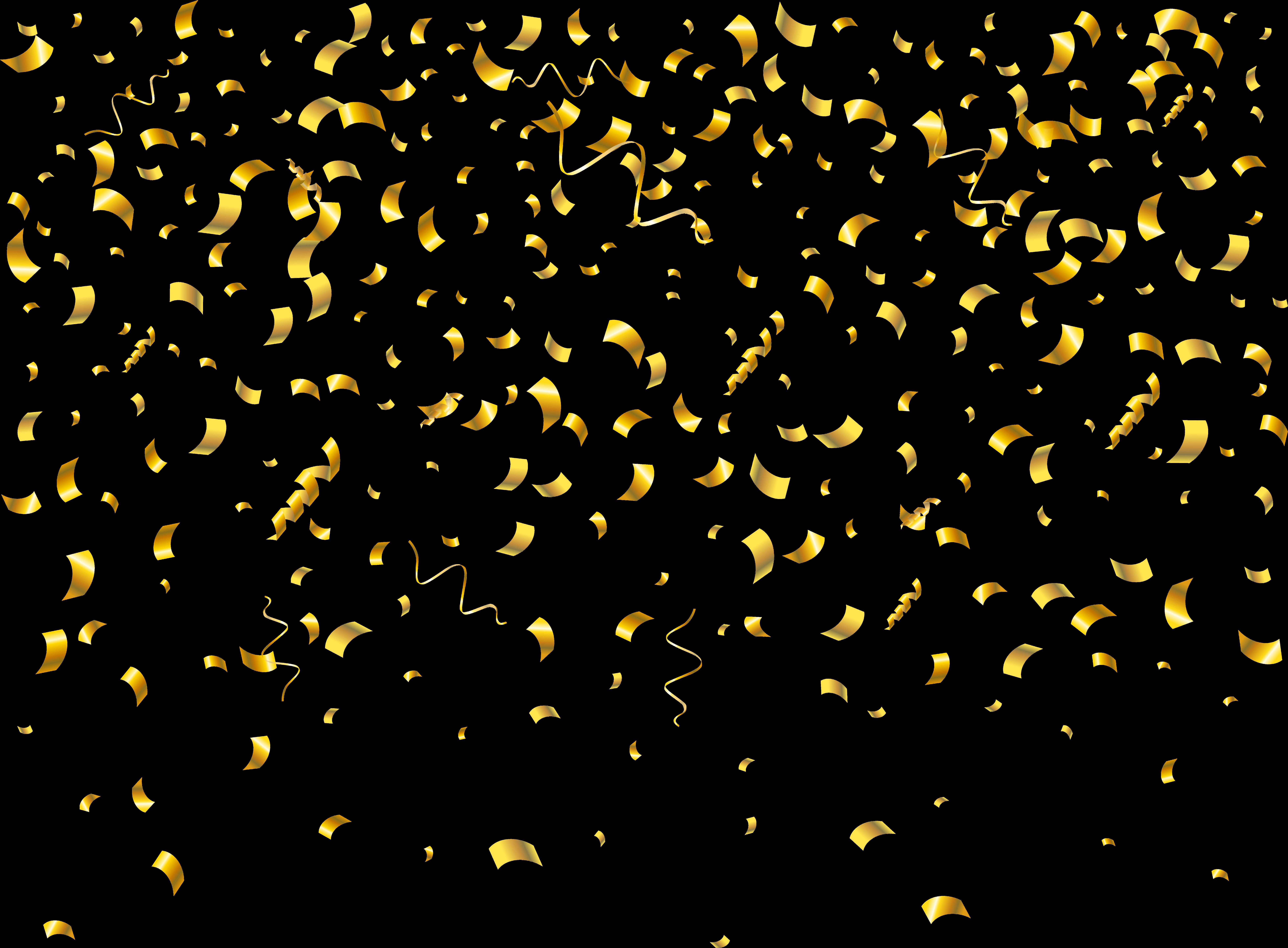 glitter confetti png - Confetti Transparent Clip Art Png ...