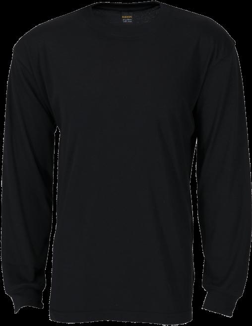 black long sleeve shirt png