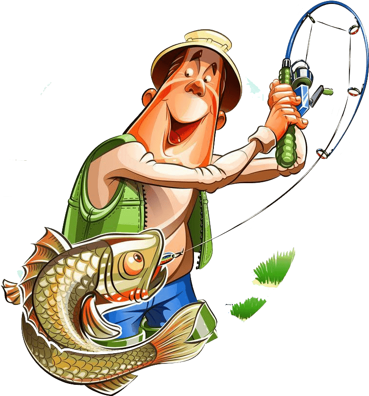 Fishing Rod Png Fishing Rod Clipart Early Fishing Fisherman Clipart 161395 Vippng