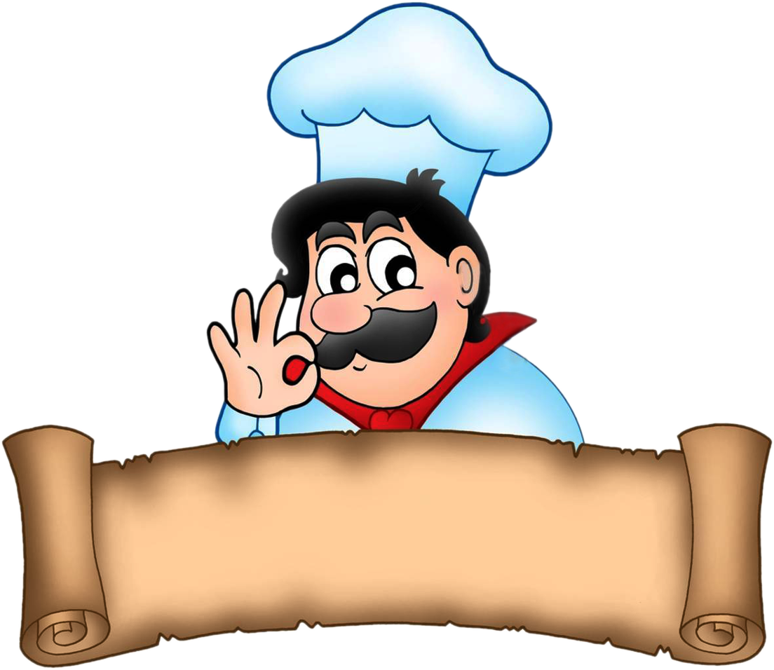 Cooking Clipart Png Chef Cartoon Downloa Chief Cook Clipart