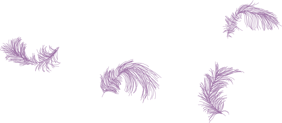 Purple Feather Png Sketch 1795662 Vippng