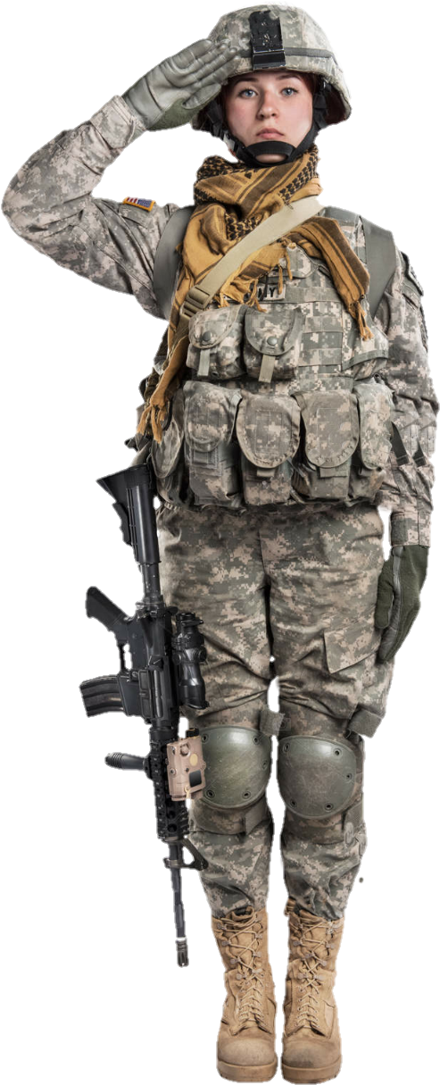 female soldier png - Femalesoldier Sticker - Female Soldier Soldier Salute  Stock | #1821572 - Vippng