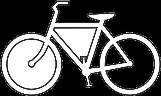 Vintage Bicycle Png Bicycle Clipart Vintage Tandem Bike Bike Clip Art Black And White 1837957 Vippng