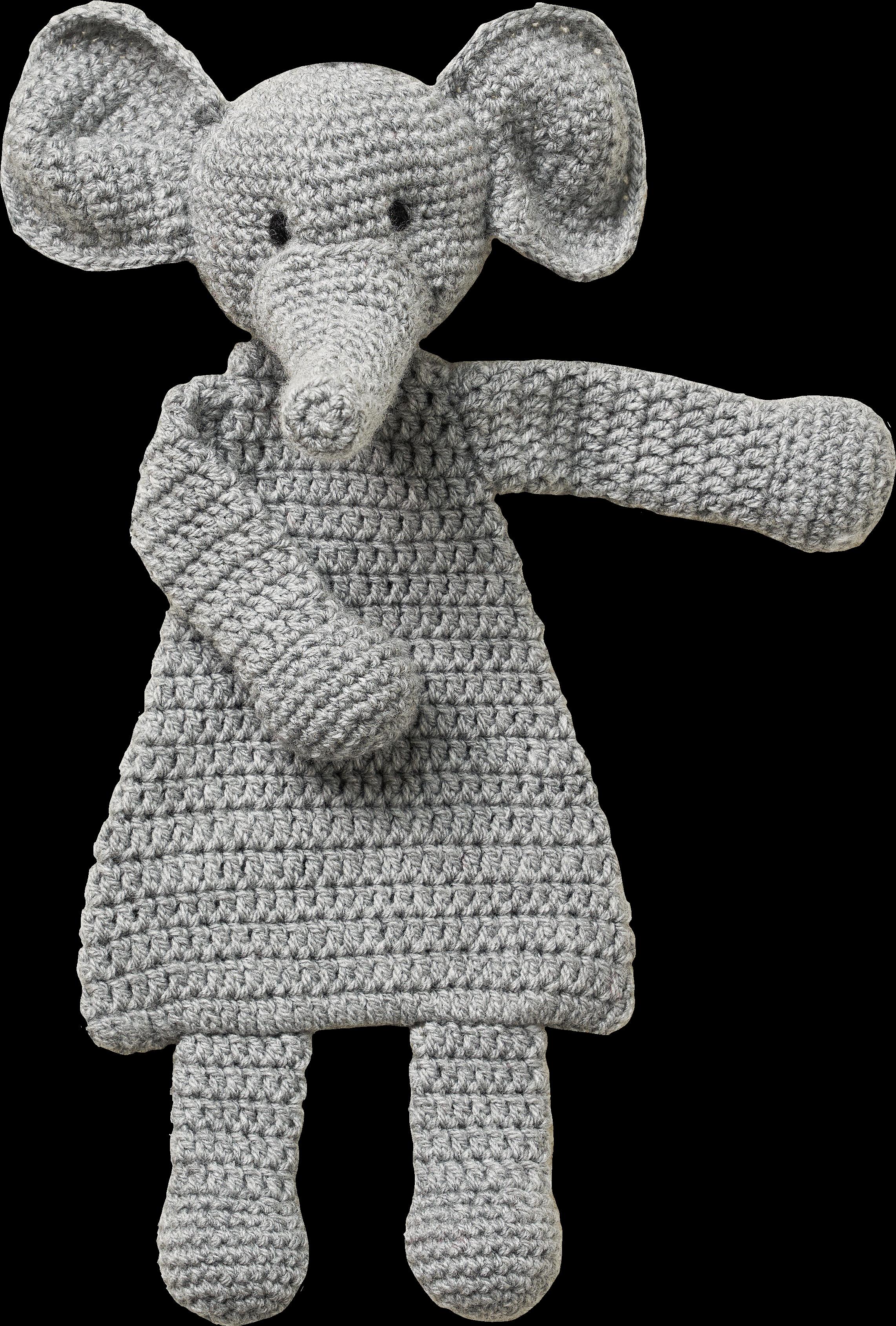 Adorable Crochet Elephant Applique Free Pattern - Knit And Crochet ... | 3377x2283