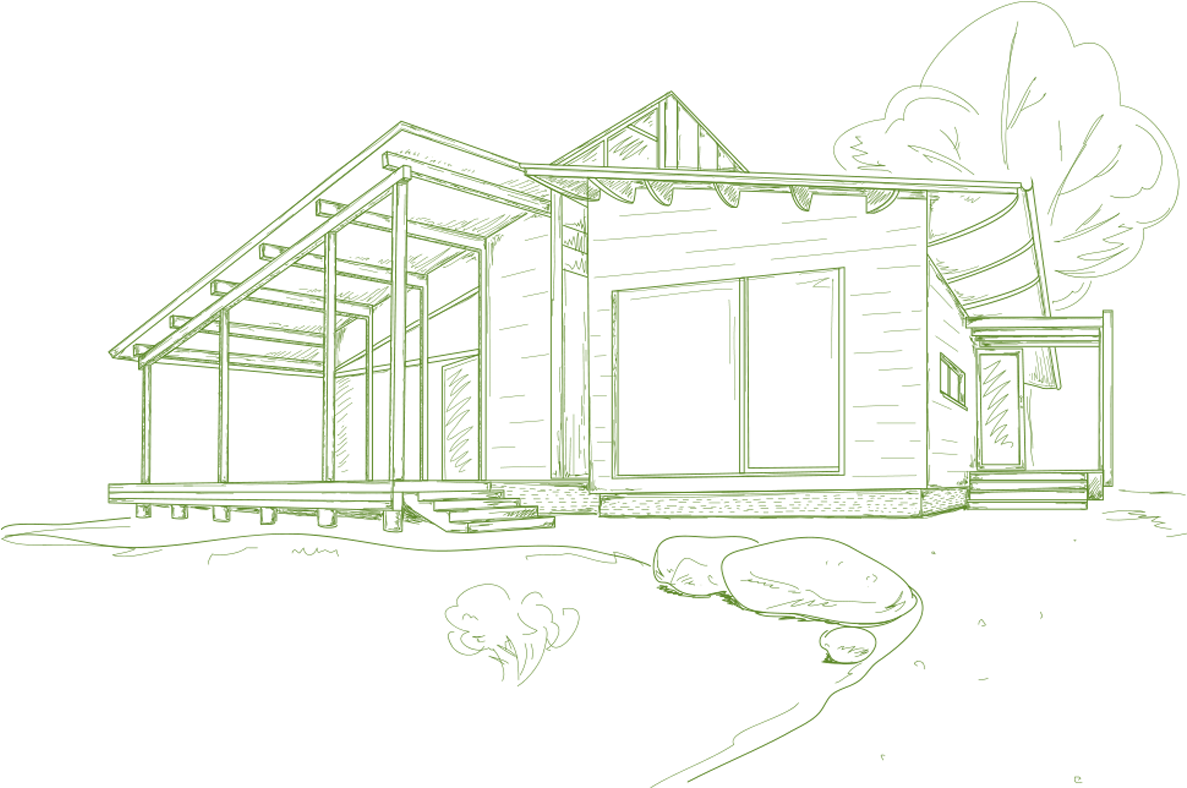 House Sketch Png We Don T Build Houses We Build Homes Sketch 1924936 Vippng