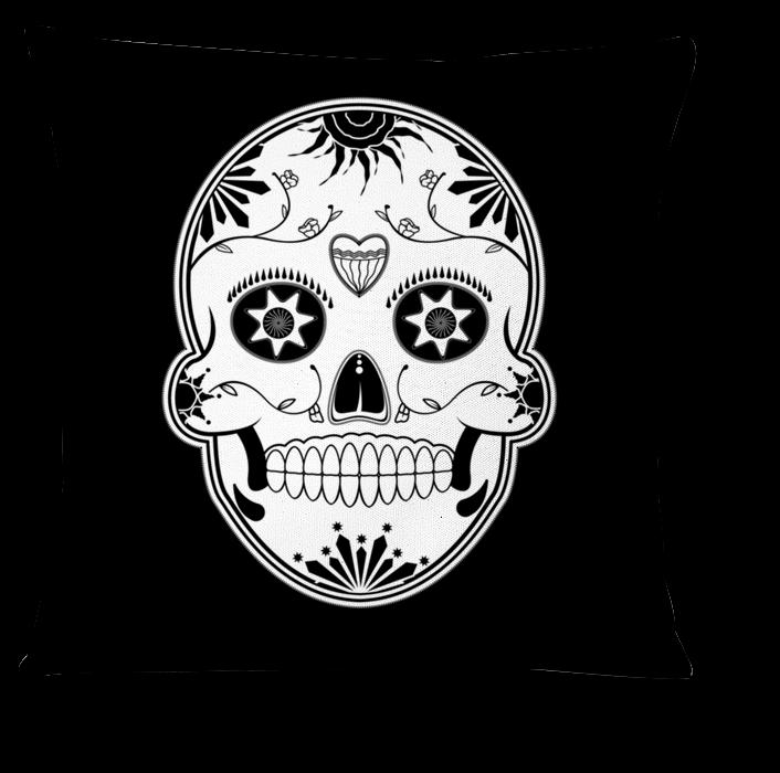 Caveira Mexicana Png Almofada Caveira Mexicana De Flp Smntna