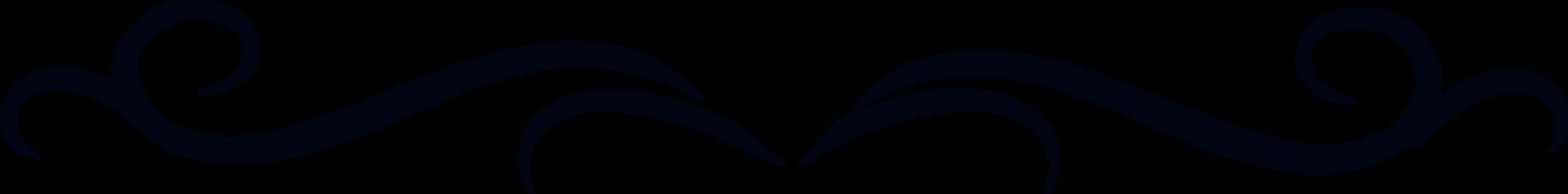 Transparent simple flourish png - Black Scroll Design - Single Line Clipart