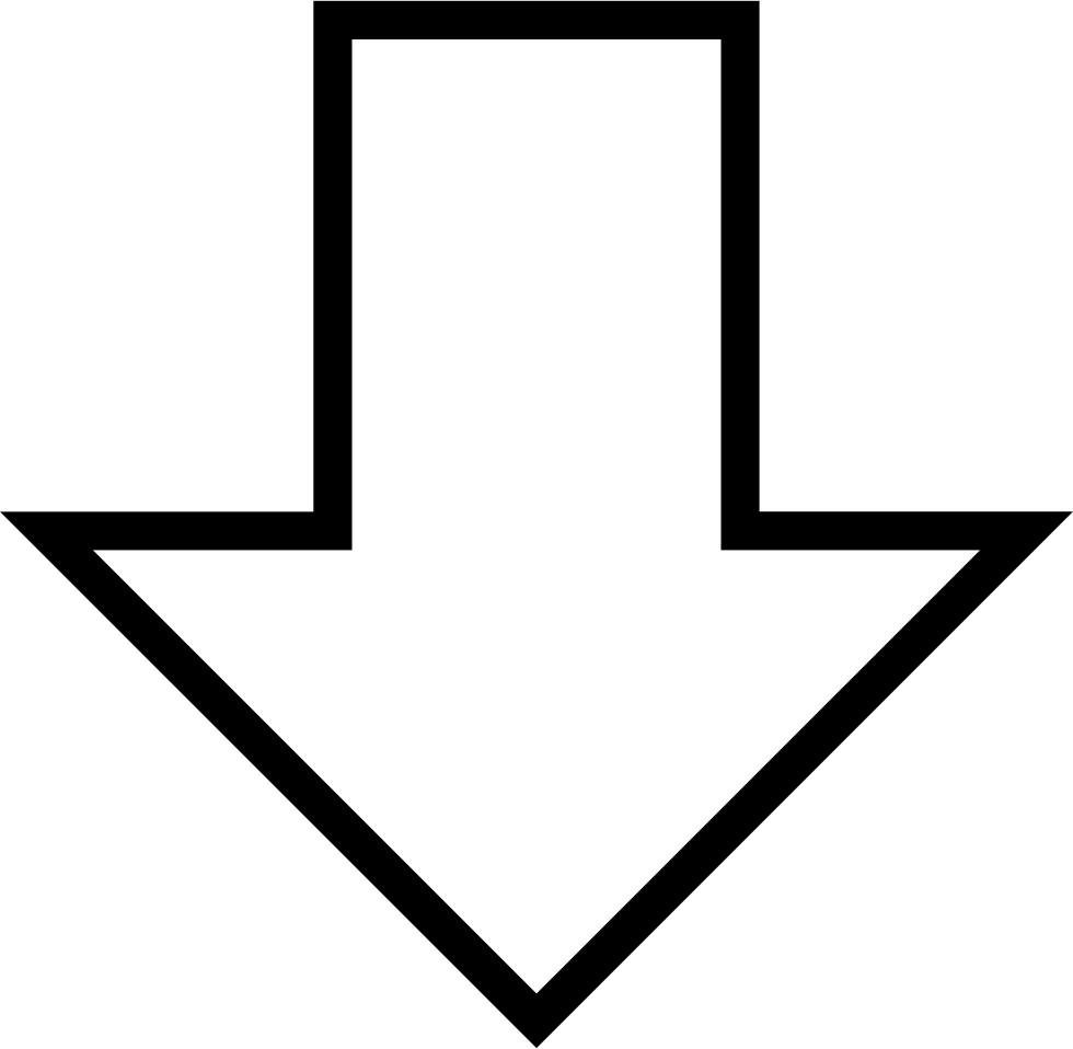 down arrow.png - White Arrow Down Png - White Arrow ...