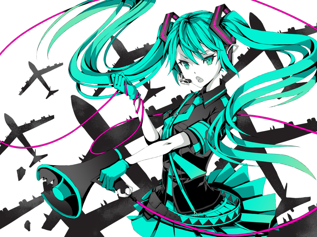 Anime Love Png Hatsune Miku War 2158337 Vippng