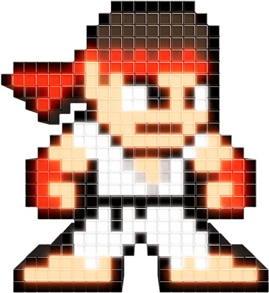 Ryu Street Fighter 5 Png Ryu Pixel 224748 Vippng
