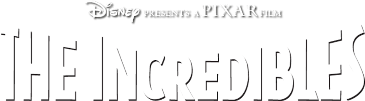 The Incredibles Logo Png Disney Presents A Pixar Film Logo 2319109 Vippng