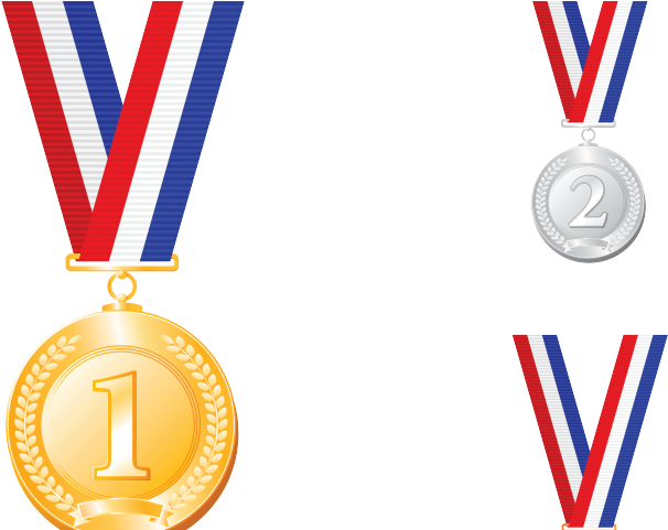 7 Personal Gold Medal Achievements   Gold medal, Medals, Clip art