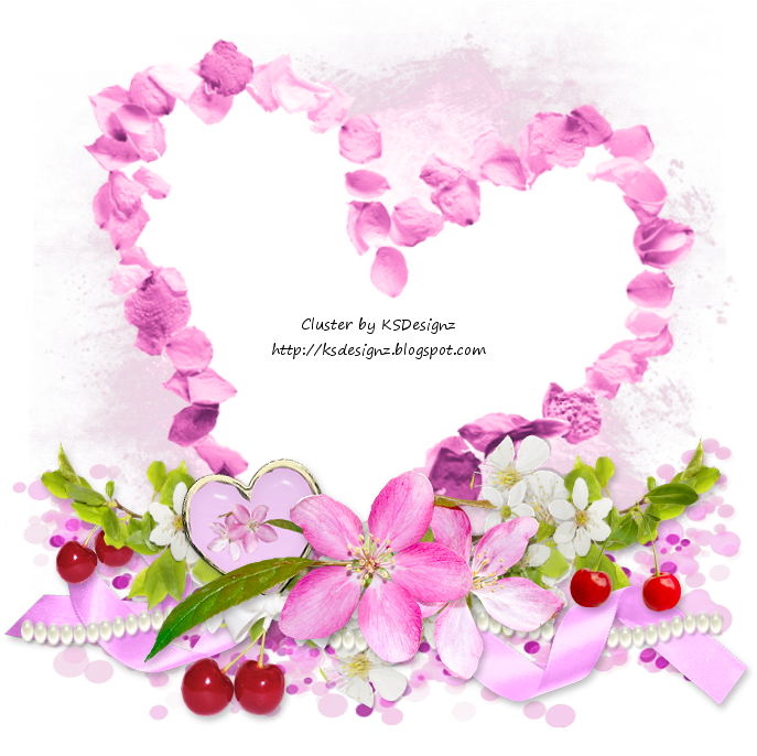 cherry blossom petals png - Cluster Frame Cherry Png , Png ...